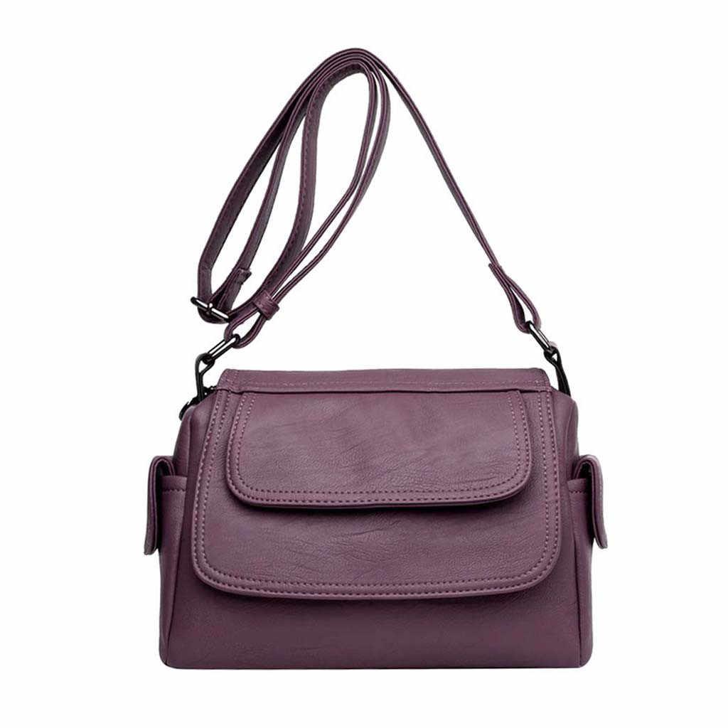 Mulheres do vintage crossbody sacos de couro do plutônio pequeno quadrado mensageiro bolsa de ombro bolsa de telefone sac a principal femme # t1g