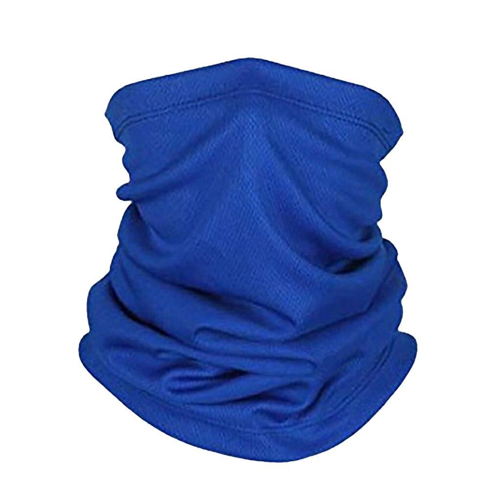 2020 Scarves Half Face Cover Bandana Neckerchief Men's Scarf Snood For Women Versatility Caps Cycling Elastic Snood Drop Ship D3