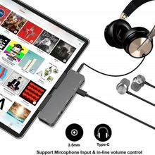 Hub-Hub Docking-Station Dock-Type-C Mobile-Phone To for iPad Pro 7-In-1 Multi-Function