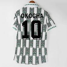 Retro 1994 okocha yekini finidi nwogu camisas clássicas vintage