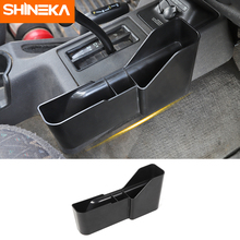 Stowing Tidying For Jeep Wrangler TJ Car Gear Storage Box Organizer Side Pocket For Jeep Wrangler TJ 1997-2006 ABS Accessories