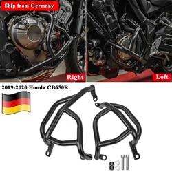 Pour Honda CB650R moteur garde moto autoroute Crash Bar pare-chocs cadre protecteur noir 2019 2020 CB 650 R CB 650R accessoires