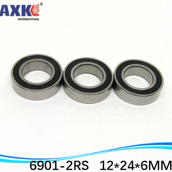 10pcs 6806-2RS 6806RS 6806 2RS 30x42x7mm Rubber Sealed Deep Groove Ball Bearing