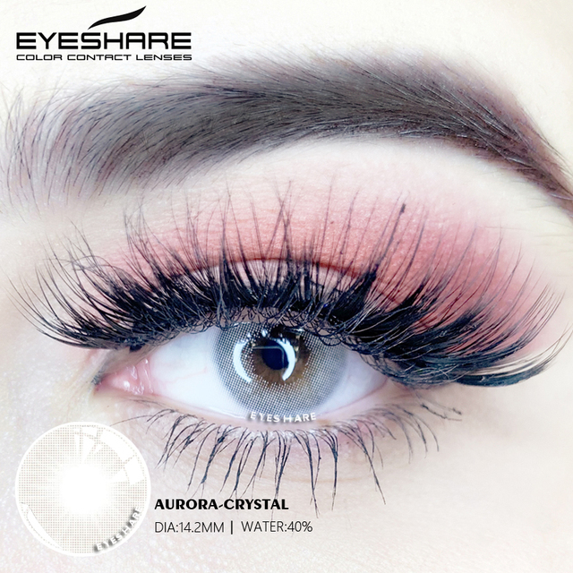 EYESHARE- 1 Pair Bitas Ocean Color Beautiful Pupil Contact Lenses Cosmetic Contact Lens Eye Lenses(2pcs) 4