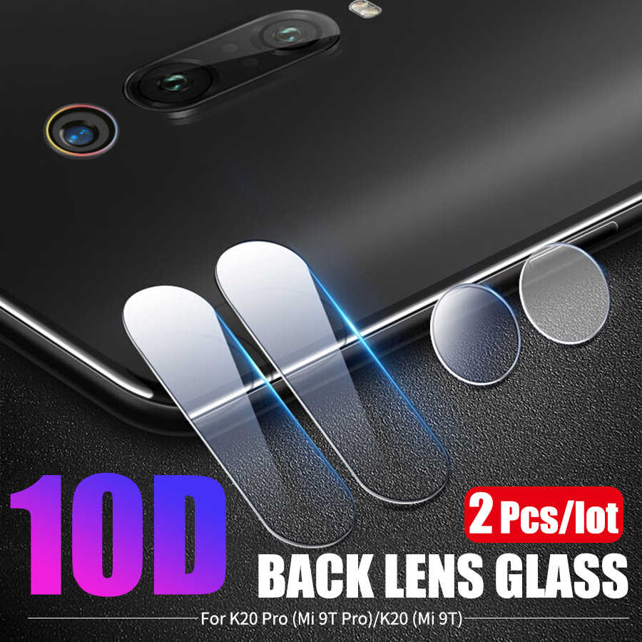2Pcs/lot Back Camera Lens Tempered Glass For Xiaomi Mi 9T 9 SE Lite Note 10 A3 Redmi K20 Note 7 8 Pro 8T Lens Protector Glass
