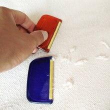 Бритвенные домашние аксессуары для удаления волос пластиковый Край Ткань расческа небольшой триммер ручной медной полосы Lint свитер для детей Инструменты