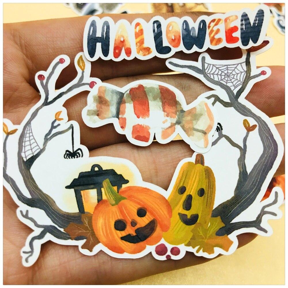 planner stickers Pumpkin Jack O lantern Halloween sticker// crafting Stickers