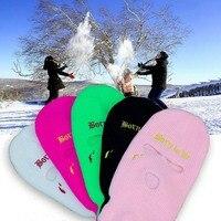 Neon Balaclava Drei-loch Ski Maske Taktische Maske Full Face Maske Winter Hut Halloween-Party Maske Begrenzte Stickerei