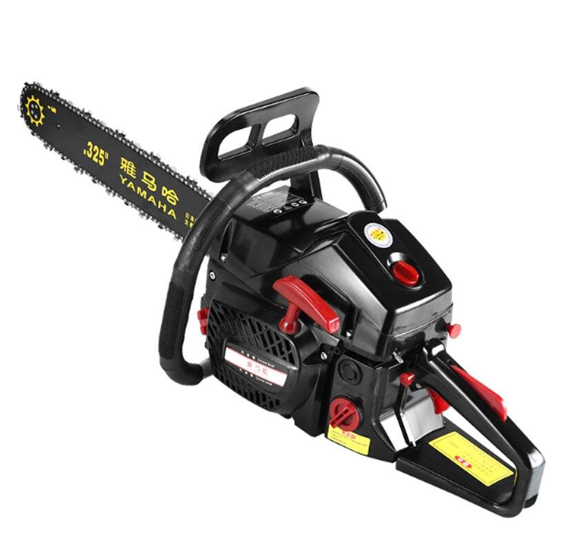 4500W High Power Gasoline Saw Hand Held Chain Saw Cutting Wood Machine Oil Logging Saw Machine Portable Garden Tools 4.5KW