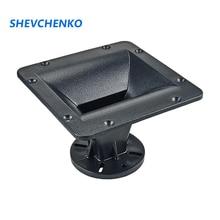 Shevchenko 158*158Mm Tweeter Hoorn Tube Speaker Conversie Hoofd Abs Voor 25 Core Treble Hoorn Converter Audio Speaker onderdelen 1Pc