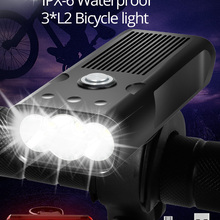 Bicycle-Light Bike-Accessories Bike-Lamp Power-Bank IPX5 Trlife 5200mah Rechargeable
