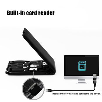 Multi-Function Wireless Charger Card Portable Holder Charging for Mobile Phone HSJ-19