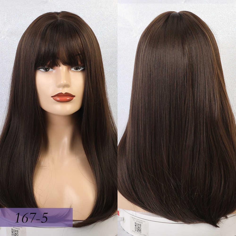 Straightened Long Layered Black Hair 67