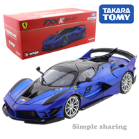 Takara Tomy Tomica Presents Burago Signature Series 1:18 FXX K EVO Special Color Car Kids Toys Motor Vehicle Diecast Metal Model
