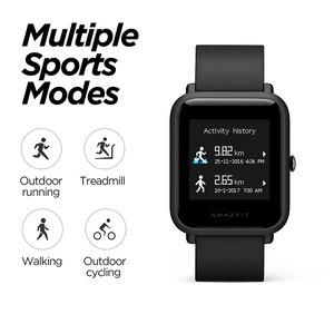 Image 4 - Amazfit reloj inteligente Bip lite, reloj inteligente resistente al agua hasta 3atm, 45 días de batería y Android iOS