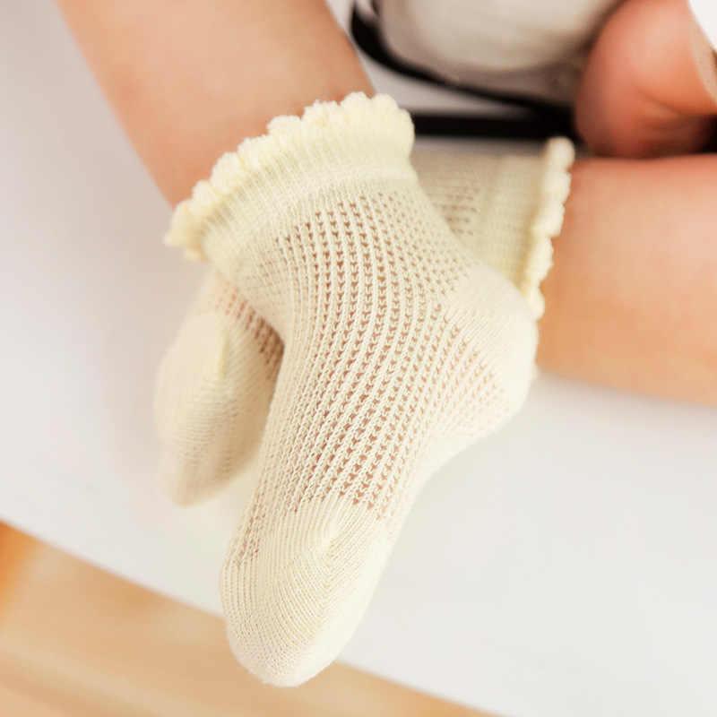 5 Paris/Nhiều Sơ Sinh Trẻ Sơ Sinh Bé Trai Bé Gái Tất Trẻ Em Mùa Hè Lưới Mỏng 100% Cotton Thoáng Khí Vớ Bé Gái Size 1 2 3 4 5 6 Năm
