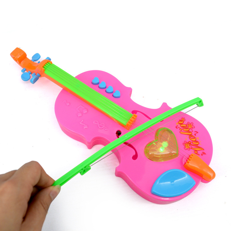 Stall Hot Selling Educational Toy Children Magic Music Violin Magic Violin GIRL'S Toy