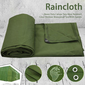 Outdoor Waterproof Canvas Tarp