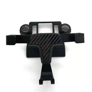 Image 2 - For Toyota RAV4 RAV 4 XA50 2019 2020  Car Phone Holder Air Fragrance Special Size carbon Fiber With Car perfume