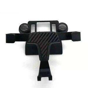 Image 2 - Автомобильный держатель для телефона Toyota RAV4, автомобильный держатель для телефона XA50, специальный размер, Углеволокно, автомобильный парфюм, 2019, 2020