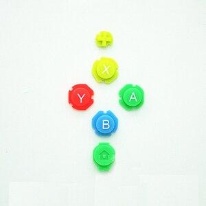 Image 3 - Kleurrijke Abxy Richtingen Keys Knoppen Joystick Voor Nintendo Switch Ns Nx Controller Joy Con Links Rechts Controller