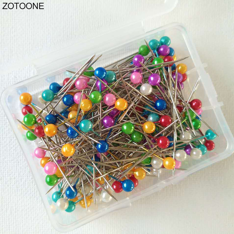 Dressmaking Pins Sewing 800 Pcs Pearl Head Pins Wedding Decorating Crafts Tool