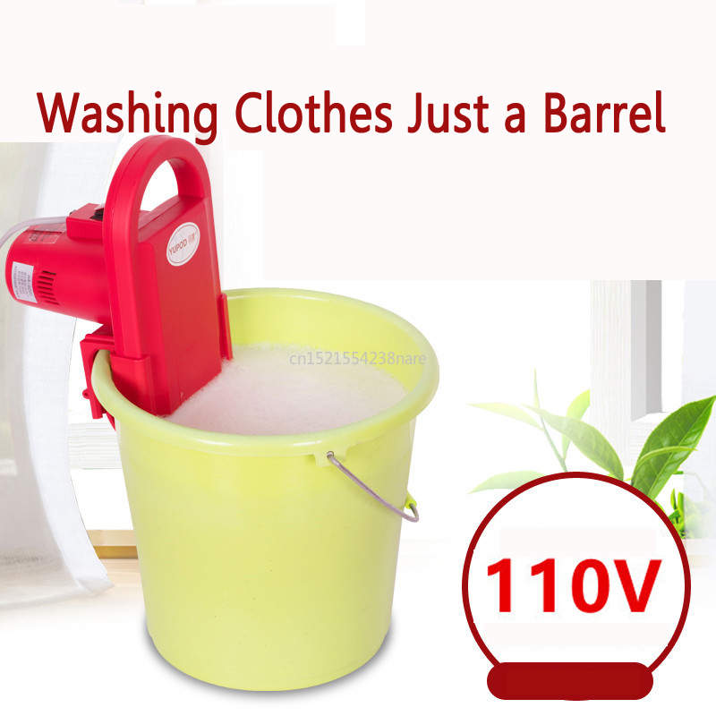 22%,110V Portable Mini Washing Machine Wall Hanging MINI Bucket Clothes Washer Timing 15min Fast  Power Wash