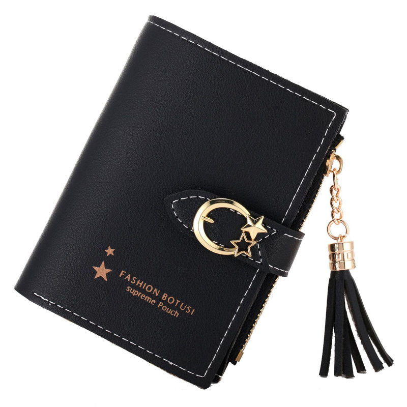 Short Coin Purses Women Wallets Candy Colors Girls Purse Mini Moneybags Female Wallet ID Cards Photo Holder Bags Notecase Pocket
