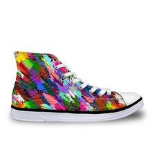 Haoyun/женская Повседневная парусиновая обувь; Цветная дизайнерская