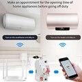 Vida inteligente (tuya) app 1 p wifi interruptor inteligente sobrecarga proteção contra curto circuito com alexa casa do google para casa inteligente
