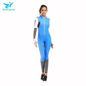 Ski-Suit One-Piece Women's And Rubber Sports-Uniform Speed-Skating Hanged Professional