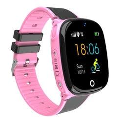 Новые sim-карты телефон часы Детские Смарт часы мальчик девочка digitalwatch многофункциональные спортивные электронные часы gps водонепроницаемы...