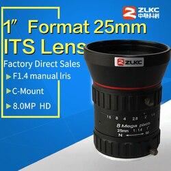 HD 8 megapikseli 25mm C zamontować obiektyw aparatu instrukcja Iris ręczne ustawianie ostrości F1.4 przysłona 1