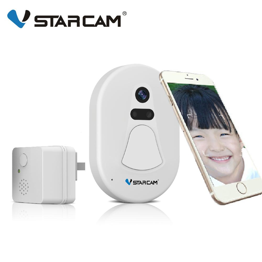 VStarcam Door Bell Door Camera Wifi Doorbell Door Viewer Free Cloud Storage Photo Security Night Vision