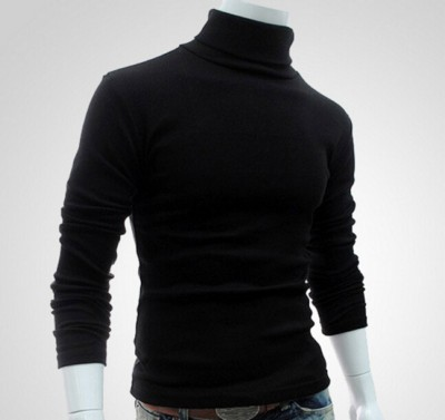 Men Pullover Turtleneck Autumn Winter Men's Sweater Slim Fit Lightweight Long Sleeve Mens Casual Wool Knitted Pullover Homme