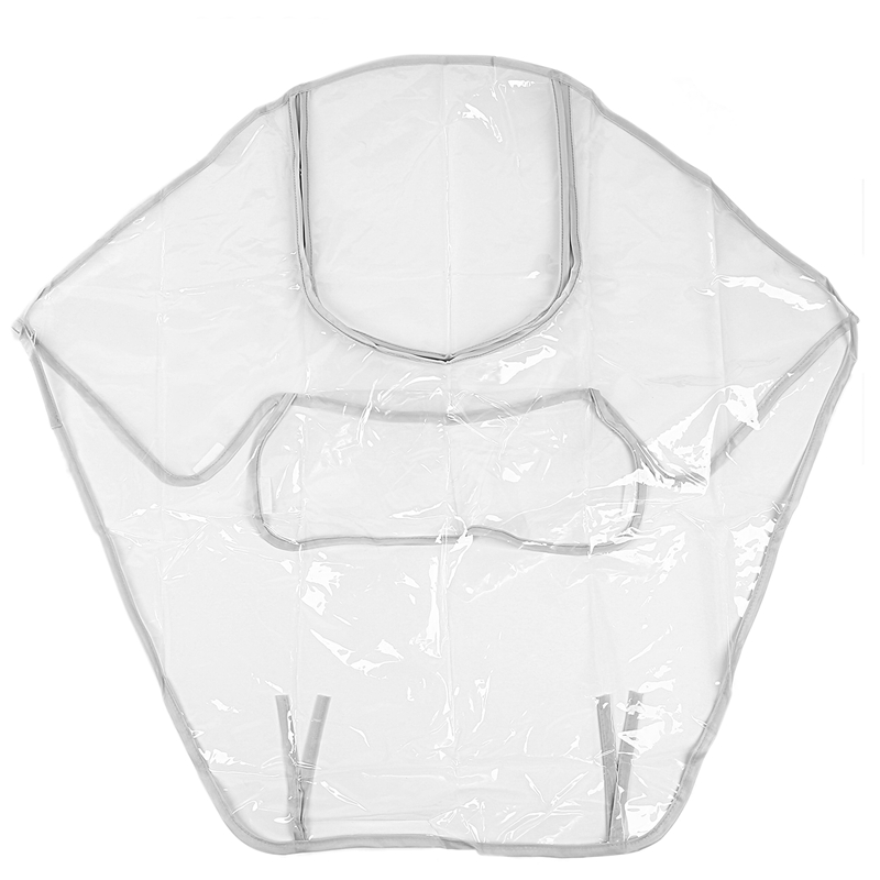 Baby Stroller Raincoat Accessories Waterproof Anti Wind Dust Zipper Open Cover