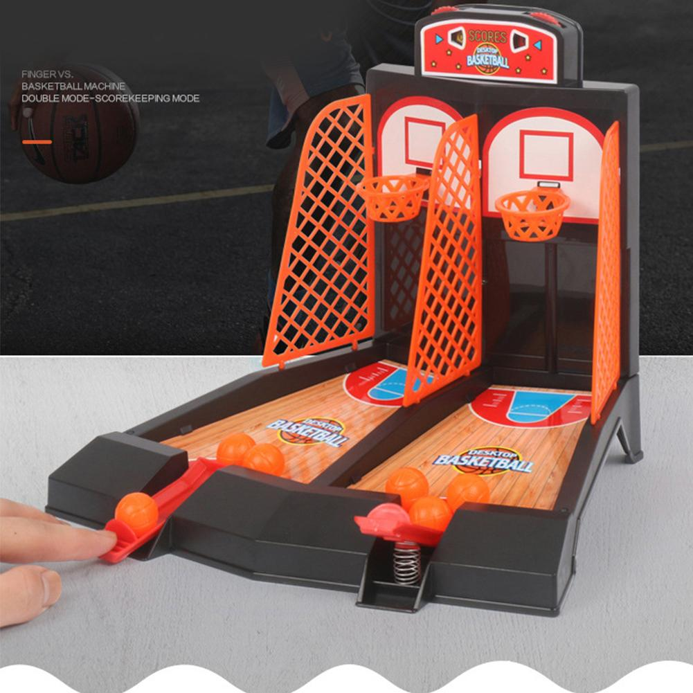 Mini Basketball Table Play Toys Kit Family Sport Game Home Basket Balls Gift Funny Parent-child Party Shooting Ball Game Toys
