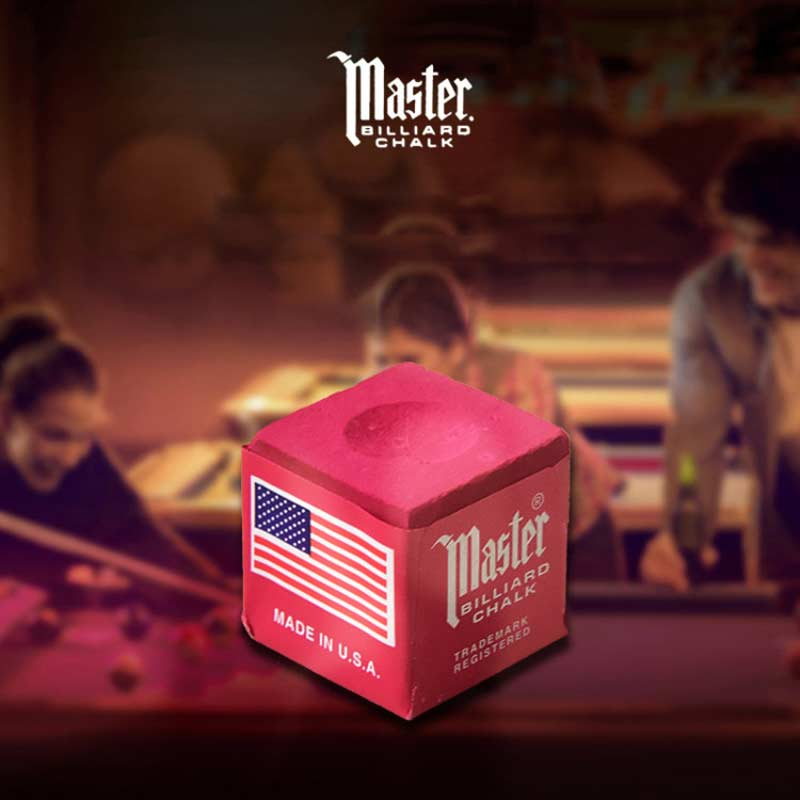 Geninue Master Chalks Light Green/Dark Green/Blue/Red Dry Snooker Oily Nature Pool Cue Billiar Chalk Billiard Accessories 2019