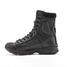 new size 36-46 Tactical Boots Military men Combat bot Hiking Shoes Army black Breathable Wearable with high quality Men Sneaker(China)