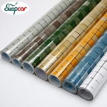 Classic Waterproof Mosaic Vinyl Self adhesive Stickers Anti Oil Kitchen Wallpaper Heat Resistance Home Decor PVC Wall Stickers