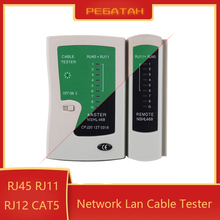 Lan cable tester 468 RJ45 RJ11 Network tester dual-use cable testing line finder tester cable rj45 Networking tool Line finder