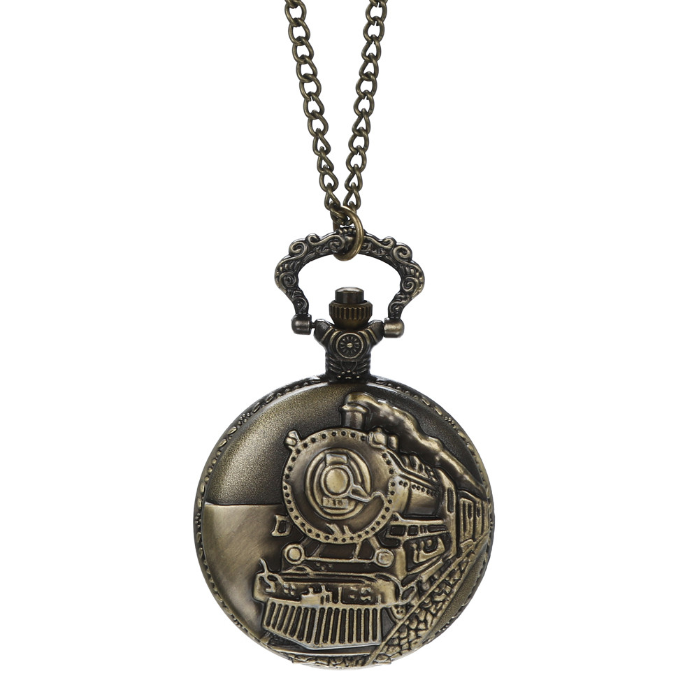 Pocket Watch Vintage Chain Retro The Greatest Necklace For Grandpa Dad Gifts Relogio De Bolso Orologi Da Taschino Zegarek