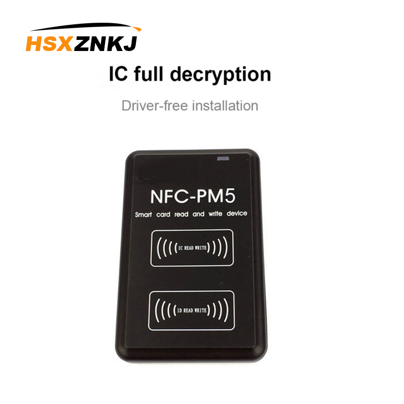 NEW PM5 Copier IC 13.56MHZ RFID Writer NFC Full Decode Function Reader Duplicator