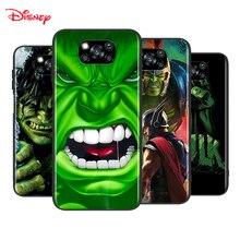 Marvel Hulk Avengers dla Xiaomi Poco X3 NFC M2 X2 F2 F3 C3 M3 F1 Pro Mi grać Mix 3 A3 A2 A1 6 5 Lite miękki futerał na telefon