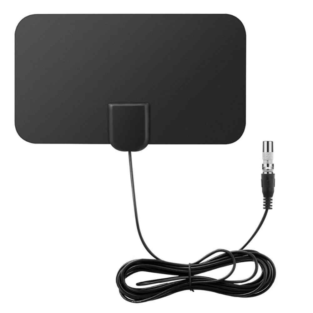 هوائي نطاق ميل 980 هوائيات تلفاز داخلية عالية الوضوح 4K رقمية مع مقوي لإشارة مكبر للصوت داخلي فائق الدقة لدائرة نصف قطرها للتلفاز