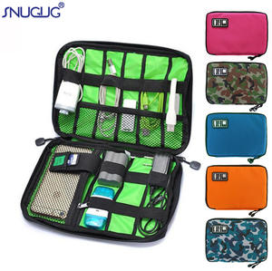Pouch Organizer Cable-Bag Suitcase-Accessories Headset Power-Cord-Charger Travel-Gadgets