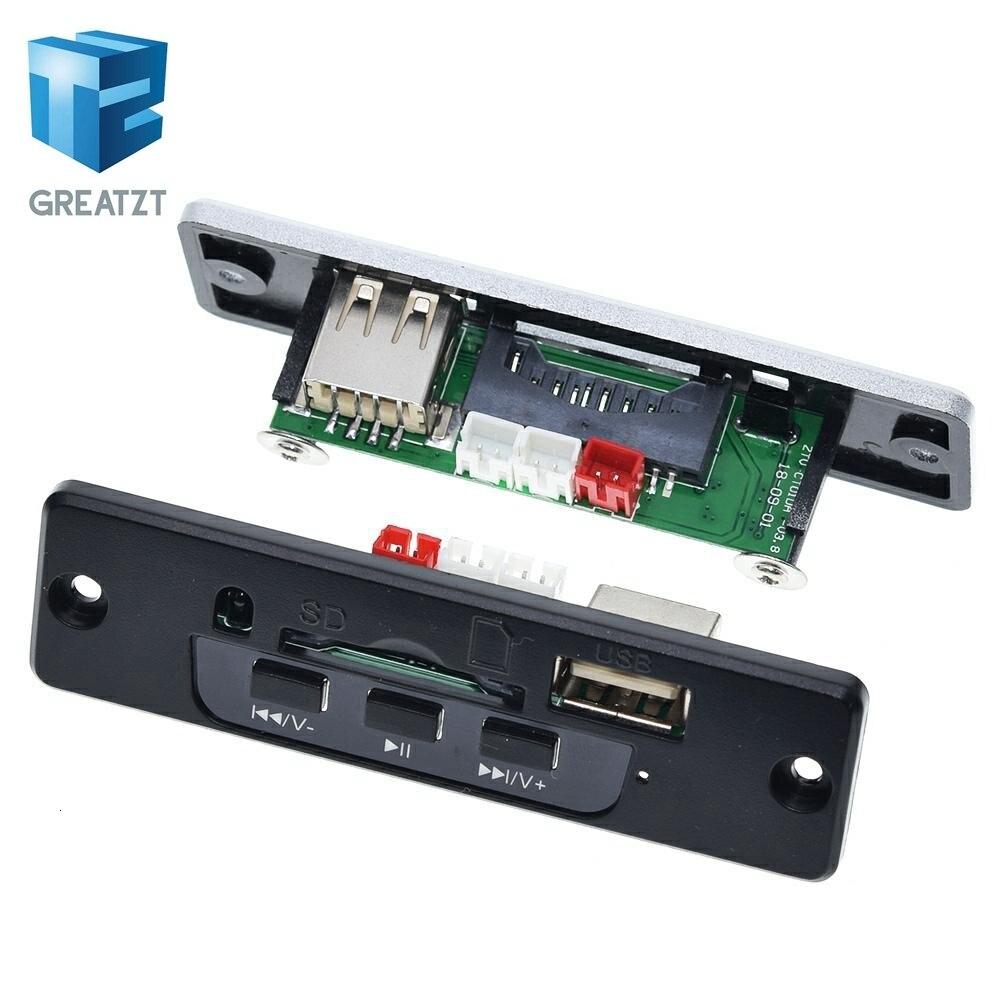 GREATZT 3,7 в 5 в мощность MP3 WAV Плата декодера с форматом 3 Вт + 3 Вт усилитель SD/MMC U диск MP3 модуль декодирования аудио с пультом дистанционного управления|Интегральные схемы|   | АлиЭкспресс