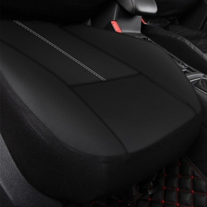 Image 3 - PU leather universal car seat cover for gift car seat cushion High quality waterproof car seat cover