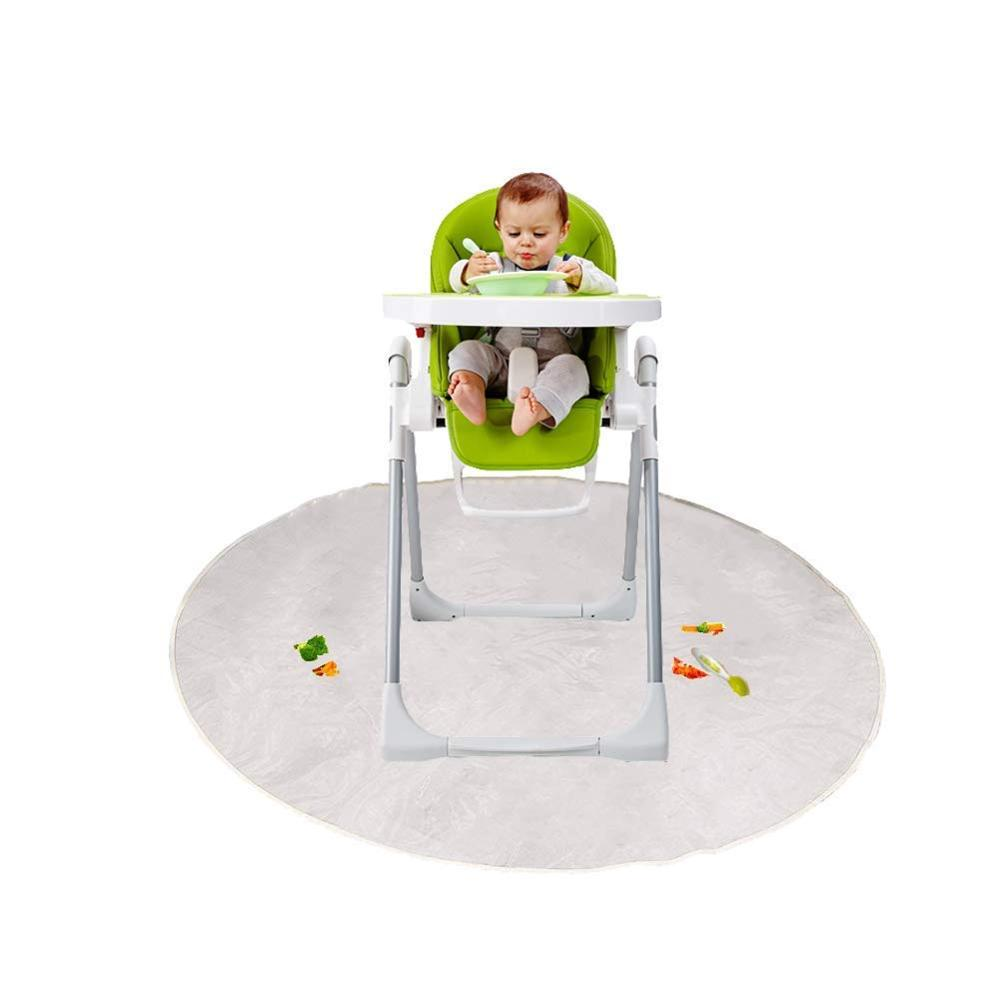 Floor Mat, Plastic Play Mat, Waterproof High Chair Floor Protector, Splat Mat, Multi-Purpose Playmat For Playing And Feeding
