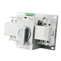 TOP! Automatic Transfer Switch 2P 63A 110V Toggle Switch Dual Power